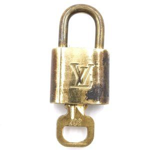 Louis Vuitton Gold Lock Alma Key Set #307